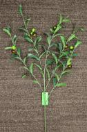 SY10641GRBU Olive Spray x 5 Green Burgundy 48""