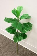 SY10751GR Mini Fiddle Leaf Spray Green 25.5""