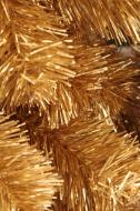 XM12243GO Metallic Pine Garland Gold 9' x 12""