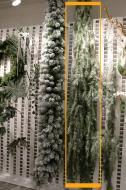 XZ10021 Weeping Needle Pine w/ Snow Garland 10' x 12""