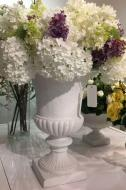 """IP10122WHSA Florence Urn D7.8 x 9.4"""""""
