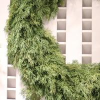 XM11316GR Pine Garland 2 Sided 9'